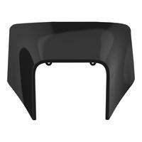 Polisport Headlight Surround Black for Husqvarna TE/FE 2020