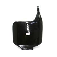 Polisport 75-867-30K Front Number Plate Black for Honda CR125/250 95-99