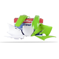 Polisport 75-900-91 Plastics MX Kit OEM Colours for Kawasaki KX250F 04-05