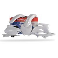 Polisport 75-901-52 Plastics MX Kit White for Yamaha YZ250F/450F 06-09