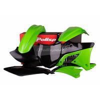 Polisport 75-904-63 Plastics MX Kit OEM Colours (2012) for Kawasaki KX250F 09-12