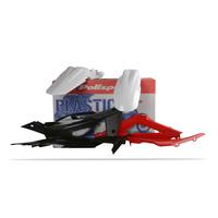 Polisport 75-905-03 Plastics MX Kit OEM Colours for Husqvarna TC/TE250/310/450/510 08 (SS 75-902-27)