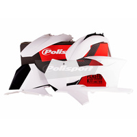 Polisport 75-905-08 Plastics MX Kit White for KTM SX 11/EXC/EXC-F 12-13