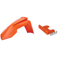 Polisport 75-907-34 Front Fender Adaptor Kit Orange for KTM SX/SX-F 07-12/EXC/EXC-F 08-13