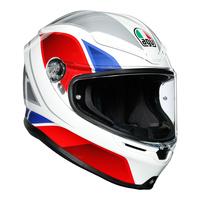 AGV K6 Helmet Hyphen White/Red/Blue