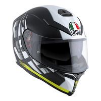 AGV K-5 S Helmet Darkstorm Matte Black/Yellow