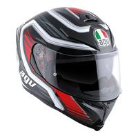 AGV K-5 S Helmet Firerace Black/Red