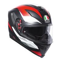 AGV K-5 S Helmet Marble Matte Black/White/Red