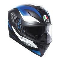 AGV K-5 S Helmet Marble Matte Black/White/Blue