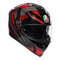AGV K-5 S Helmet Hurricane 2.0 Black/Red