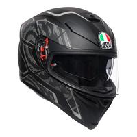 AGV K-5 S Helmet Tornado Matte Black/Silver