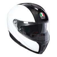 AGV Sportmodular Helmet Carbon/White