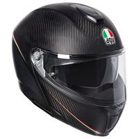 AGV Sportmodular Helmet Tricolore Matte Carbon/Italy