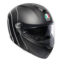 AGV Sportmodular Helmet Refractive Carbon/Silver