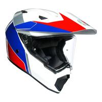 AGV AX9 Helmet Atlante White/Blue/Red