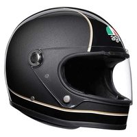AGV X3000 Helmet Super Black/Grey/Yellow