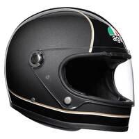 AGV X3000 Helmet Super Black/Grey/Yellow [Size: MS]