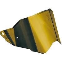 AGV Dual 1 Anti-Scratch Iridium Gold Visor w/Max Pinlock Ready for AX9 Helmets