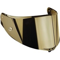 AGV Visor Race 2 Anti-Scratch Iridium Gold Visor w/Pinlock Ready for Pista GP R/Corsa R/Veloce S Helmets