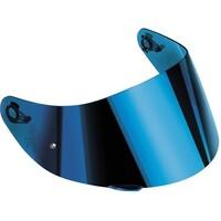 AGV GT2 Anti-Scratch Iridium Blue Visor w/Pinlock Ready for K-5 S/K-3 SV/K1 Helmets (ML-L-XL-XXL)