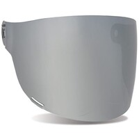 Bell 8013375 Flat Visor w/Black Tab (Dark Silver Irridium) for Bullitt Helmets