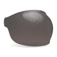 Bell 8013382 Bubble Visor w/Black Tab (Dark Smoke) for Bullitt Helmets