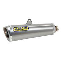 Arrow 71152PR Trophy Titanium Slip-On Muffler w/Stainless Steel End Cap for Honda CB 1000 R 08-17