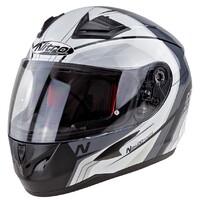 Nitro N2400 Helmet Pioneer Black/White/Silver