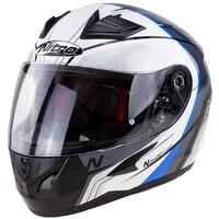 Nitro N2400 Helmet Pioneer Black/White/Blue