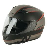 Nitro N2300 Helmet Axiom DVS Satin Black/Gunmetal/Red