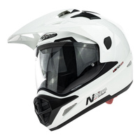 Nitro MX670 Helmet Uno DVS White