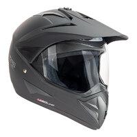 Nitro MX730 Uno Adventure Helmet Satin Black