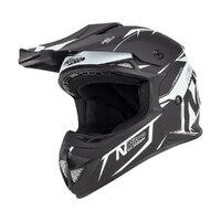Nitro MX620 Helmet Podium Satin Black/White