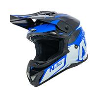 Nitro MX620 Helmet Podium Black/Blue/White