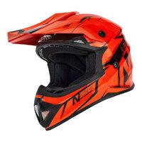 Nitro MX620 Junior Helmet Podium Black/Orange