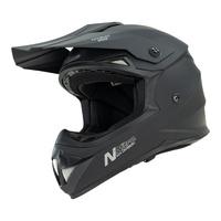 Nitro MX620 Junior Helmet Satin Black