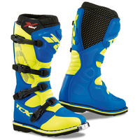 TCX X-Blast Boots Blue/Yellow