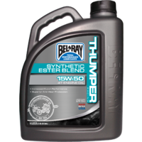 Belray 99530B4LW Thumper Racing Synthetic Ester Blend 4T Engine Oil 15W50 4 Litre