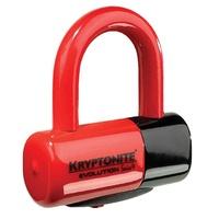 Kryptonite 999621 Evolution Series 4 Disc Lock Red (1T)