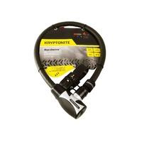 Kryptonite 999843 Hardwire 2085 Key Cable 20mm X 85cm (3C)
