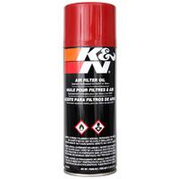 K&N 99-0516 Air Filter Oil Aerosol 357ml (12.25oz)