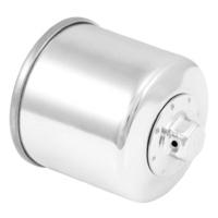 K&N KN-138C Oil Filter Chrome for Suzuki/Cagiva/Arctic Cat/Kymco/Aprilia Models 86-20