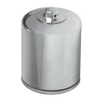 K&N KN-171C Cartridge Oil Filter (Chrome) for Buell 94-02/Harley-Davidson 99-19
