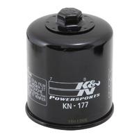 K&N KN-177 Cartridge Oil Filter for Buell Lighting/Firebolt/Blast 02-10