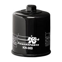 K&N KN-303 Cartridge Oil Filter for some Kawasaki 81-20/Honda 87-08/Yamaha 90-20/Bimota 93-99/Polaris 96-13 Models