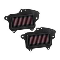 K&N SU-1409 Replacement Air Filter for Suzuki C90/C90T/VL1500 09-19