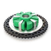 Alloy Art AA-9CC51-31 Cush Drive Rear 51T Chain Sprocket Machined/Black for FLH'09up