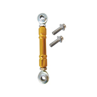 Alloy Art AA-MCL-3 Shift Linkage Mid Mounts Gold Anodized FXR 82-94 & FXD 91-17