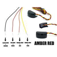Alloy Art AA-RSL-2 Replacement LED s w/Smoke Lens & Amber/Red Flashing