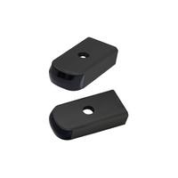 Alloy Art AA-SSL-BR-2B Turn Signal Strut Light Kit Black w/Smoke Lens & Flashes Amber/Red